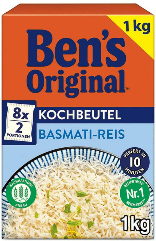 Ben's Original Basmati-Reis Kochbeutel
