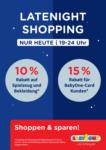 BabyOne Late Night Shopping! - bis 14.09.2021