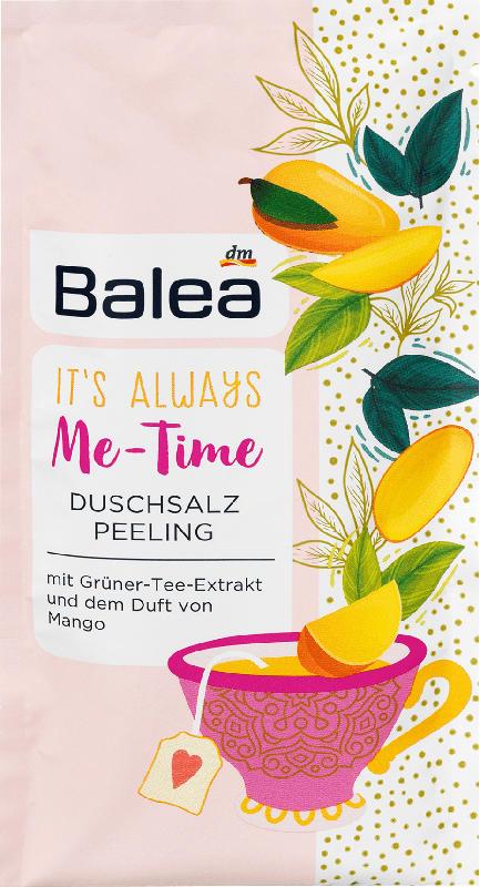 Balea Duschsalz Peeling Grüner Tee & Mango