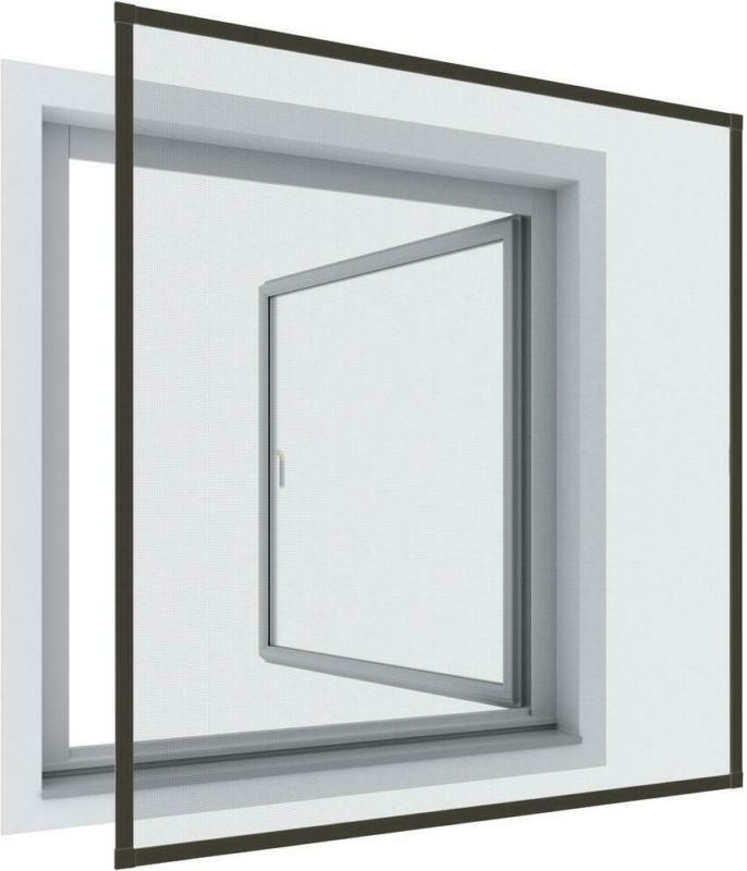 Insektenschutzgitter Rahmenfenster 130x150 cm