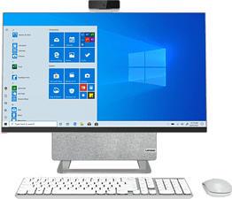 """LENOVO-YOGA Yoga AIO 7 27ACH6 - PC tout-en-un (27 """", 512 GB SSD + 1 TB HDD, Cloud Grey/Moon White)"""
