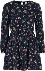 Mädchen Kleid mit floralem Allover-Motiv (Nur online)