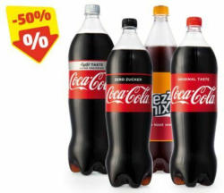 COCA COLA Coke Regular/Zero/ Light/Mezzo Mix, 1,5 l