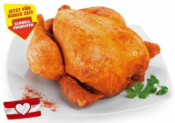 GENUSS 100% AUS ÖSTERREICH Oktoberfest-Hendl