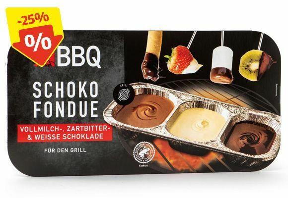 BBQ Schoko-Fondue