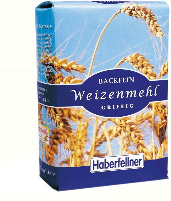 Haberfellner Backfein Weizenmehl Griffig