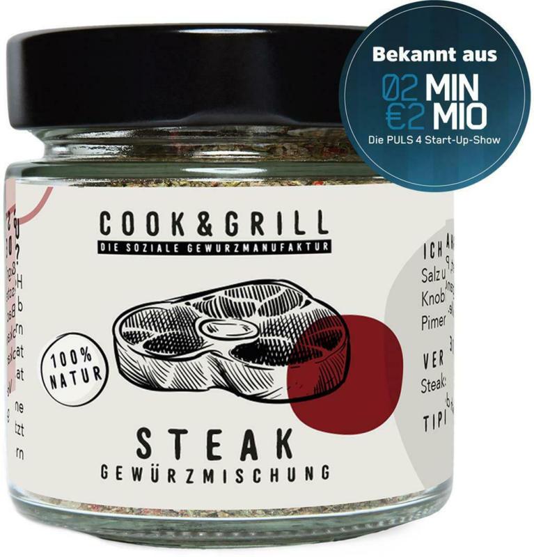 Cook & Grill Steak Gewürzmischung