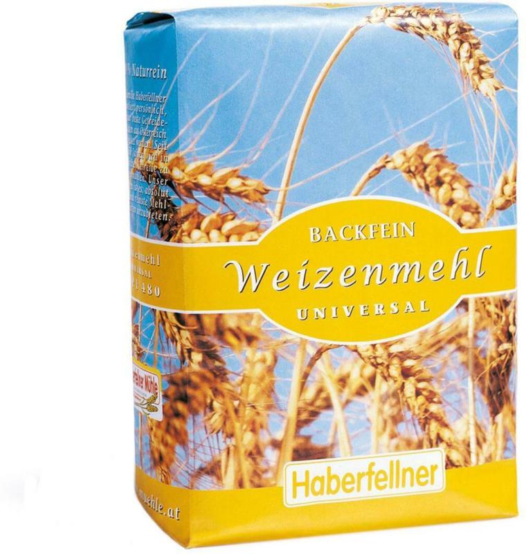 Haberfellner Backfein Weizenmehl Universal