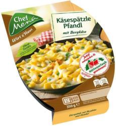 Chef Menü Käsespätzle Pfandl