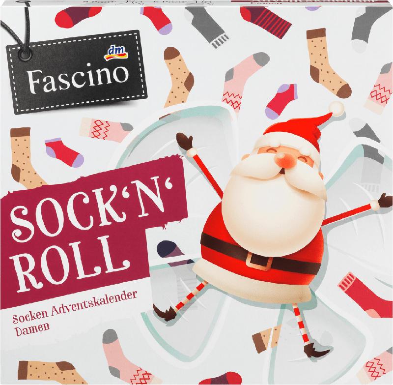 Fascino Socken Adventskalender 2021 Gr. 39-42