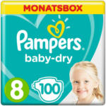 OTTO'S Pampers Baby Dry Gr. 8 Extra Large 17+  kg Monatsbox 100er -