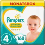 OTTO'S Pampers t. 4 Premium Protection Maxi 9-14 kg confezione mensile 168er -