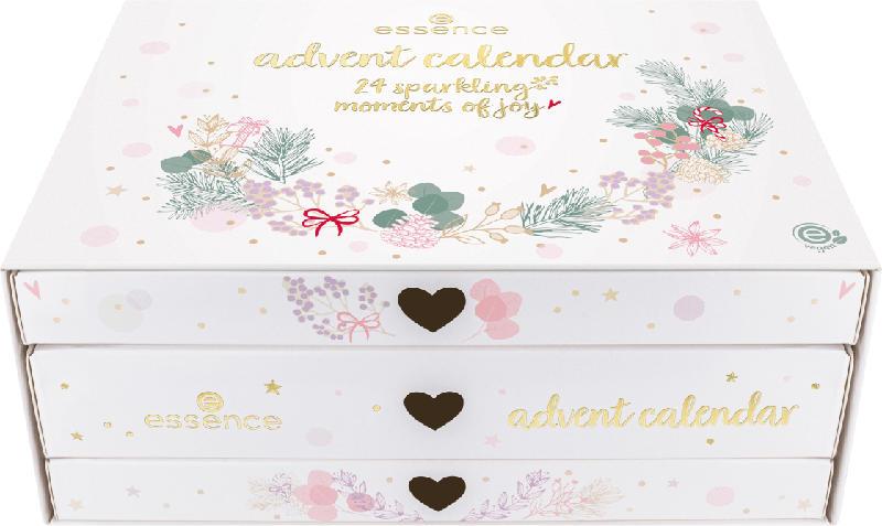 essence cosmetics Adventskalender 24 sparkling moments of joy