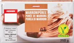 Purée de marrons Denner, 250 g