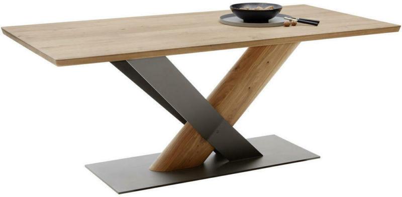 Esstisch in Holz, Metall 190/95/76 cm