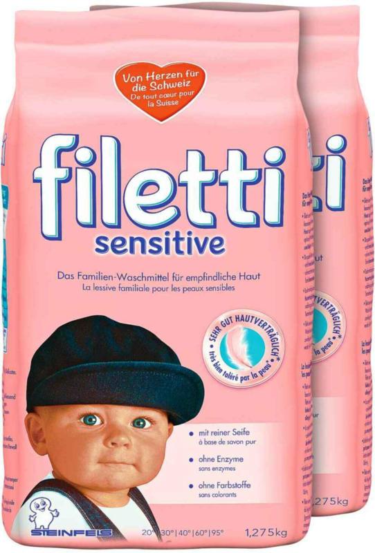 Filetti Pulver Sensitive 2 x 1.275 kg -