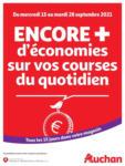 Auchan Array: Offre hebdomadaire - au 28.09.2021