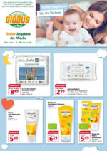 Globus: OnlineFaltblatt Baby