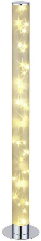 LED-Stehleuchte D: 17,5 cm Chrom