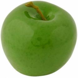 Deko Apfel ø 9cm grün