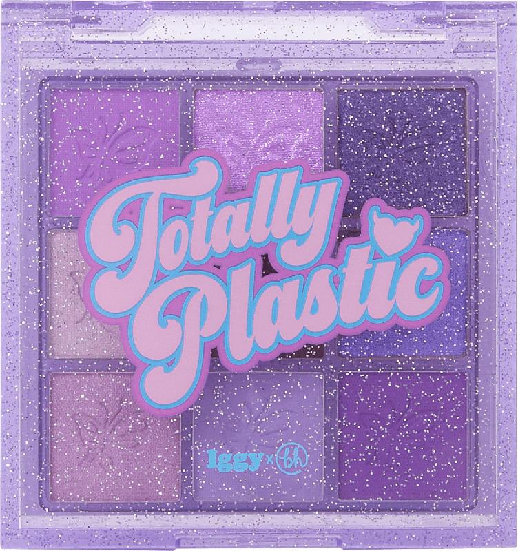 BH Cosmetics Lidschattenpalette Totally 2000's Purple Platforms - 9 Farben