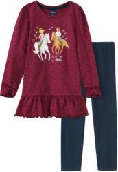 Bibi & Tina Schlafanzug mit Volant