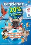 Petfriends.ch Petfriends Weekend spécial - al 04.10.2021