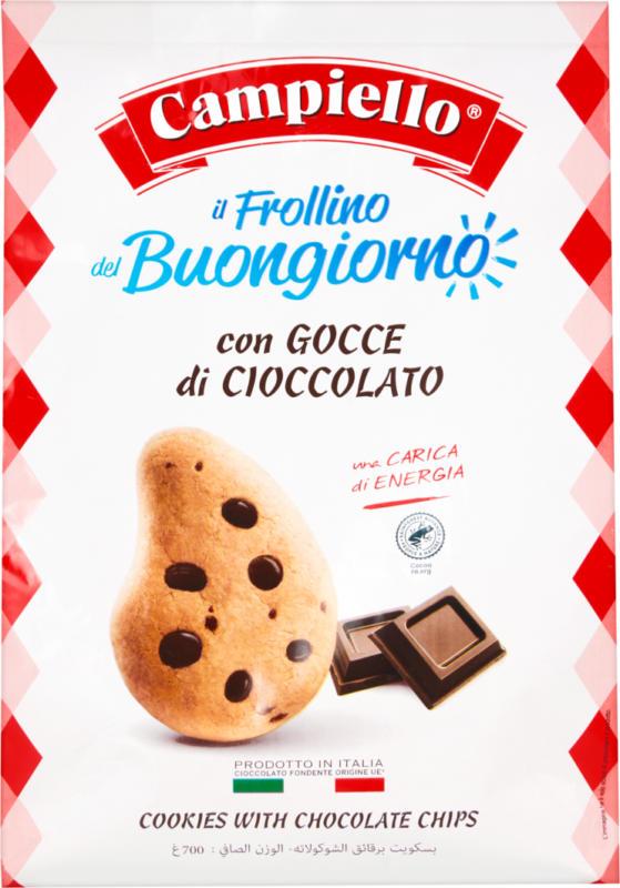 Frollino del Buongiorno Campiello , con gocce di cioccolato, 700 g
