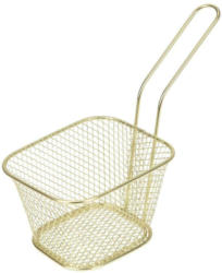 Frittierkörbchen Hagen, Gold B/H/T: ca. 11/9/7 cm
