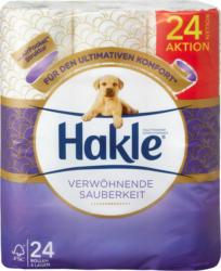Papier hygiénique Propreté moelleuse Hakle, 4 couches, 24 x 140 feuilles