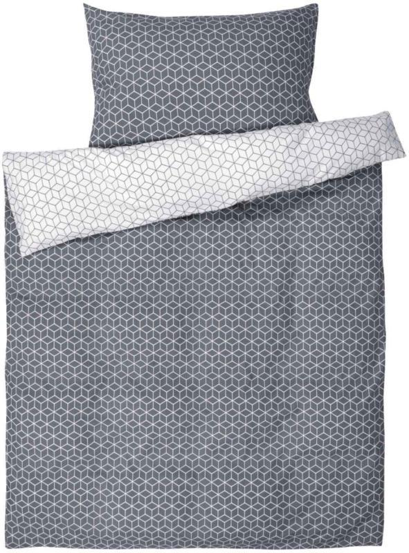 Biancheria da letto con motivo a rombi -  (Prezzo per le dimensioni più piccole)