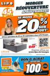 Lipo Réouverture Morges - bis 25.09.2021