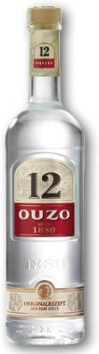 OUZO 12 40% 1L