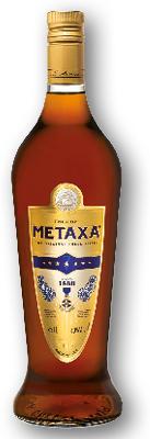 METAXA 7* 40% 1L