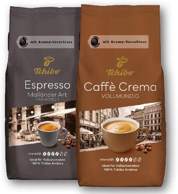 TCHIBO CAFFE CREMA, ESPRESSO 1000G
