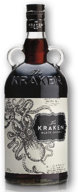 THE KRAKEN BLACK SPICED 40% 1L