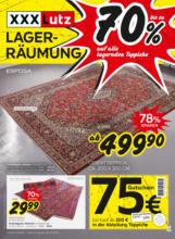 XXXLutz Lagerräumung Teppiche