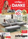 Zurbrüggen Zurbrüggen Möbel-Rabatt bis zu 40% auf fast Alles! - bis 16.10.2021