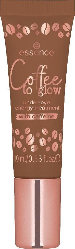 essence cosmetics Augenpflege Coffee to glow under-eye energy treatment mit Koffein