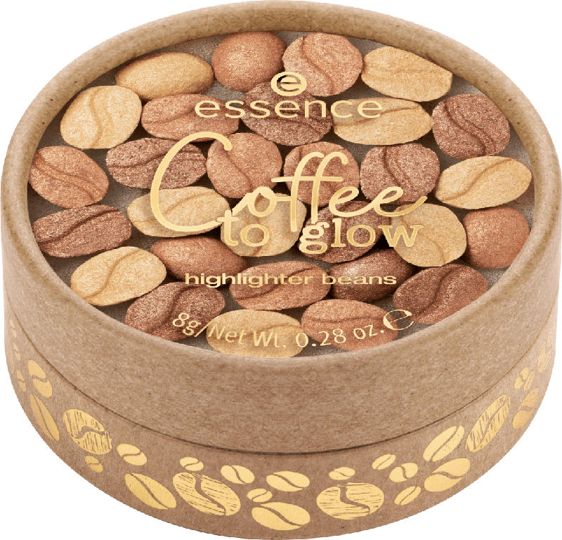 essence cosmetics Highlighter Coffee to glow highlighter beans
