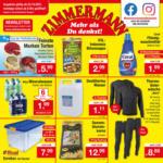 Zimmermann Sonderposten Angebote vom 04.10.-09.10.2021 - bis 09.10.2021