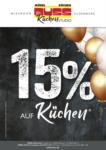 Möbel Buss Einrichtungshaus GmbH & Co. KG 15% auf Küchen - bis 12.10.2021