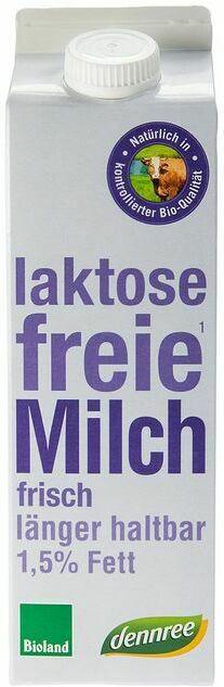 Laktosefreie Bio-ESL-Milch