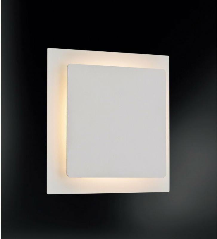 Action by Wofi LED-Wandleuchte Fey Weiß
