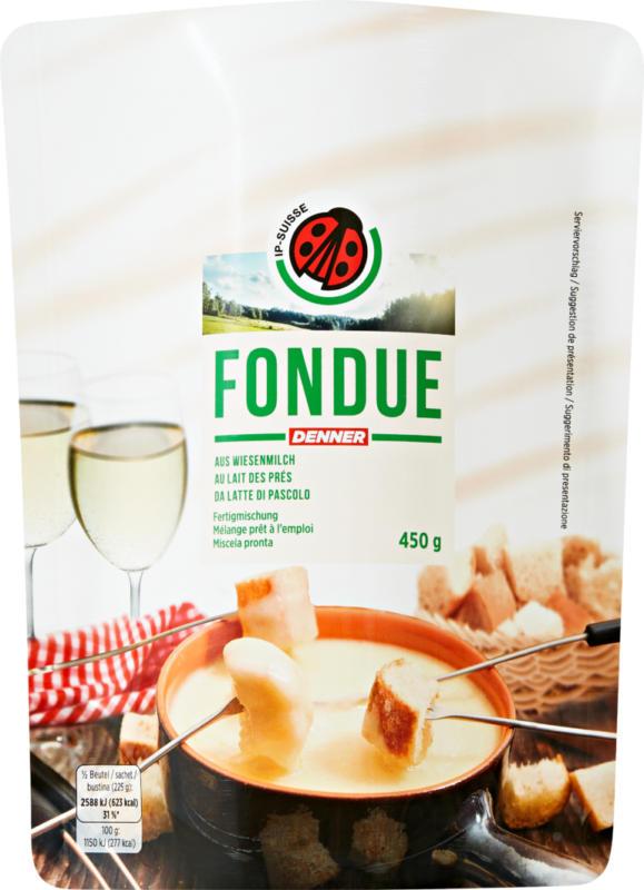Fondue du Maréchal IP-SUISSE, au lait des prés, mélange prêt à l'emploi, 450 g