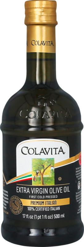 Olio di oliva italiano Extra Vergine Premium Colavita, 500 ml