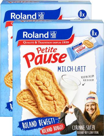 Roland Petite Pause Lait-Céréales Duo, 2 x 280 g