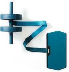 Bauchtrainer Bauchroller AB Wheel erweiterbar mit elastischem Riemen
