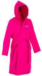 Bademantel Bio-Baumwolle Damen rosa