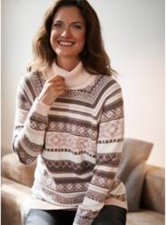 Damen-Pullover mit Glitzergarn